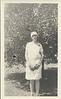 Pearl Romines in Orange Groves 1929