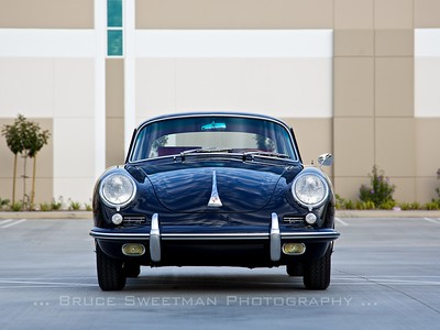 (3x4 crop) The unmistakable and pretty face of the 356 Porsche.