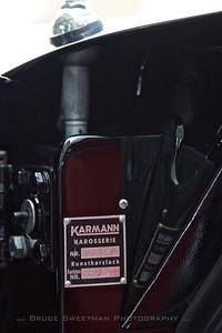 Karmann Karosserie Chassis #201867 Color #6213 Black