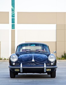 (8.5x11 crop) The unmistakable and pretty face of the 356 Porsche.