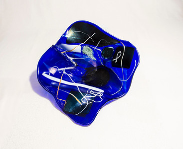 Glass bowl by artist Roberta Segal  © 1stglantzphotography