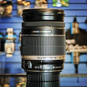 Used Canon 18-200mm EF-S