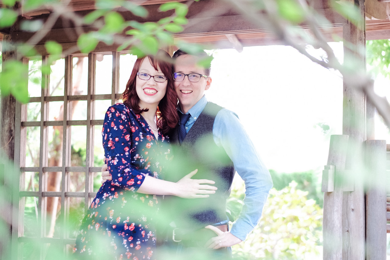 Anderson Gardens Couple's portraits