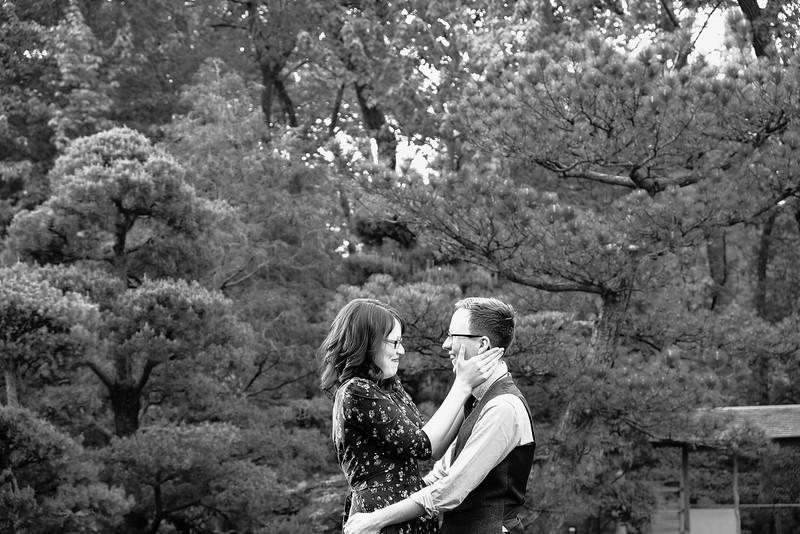 Anderson Gardens Couple's portraits