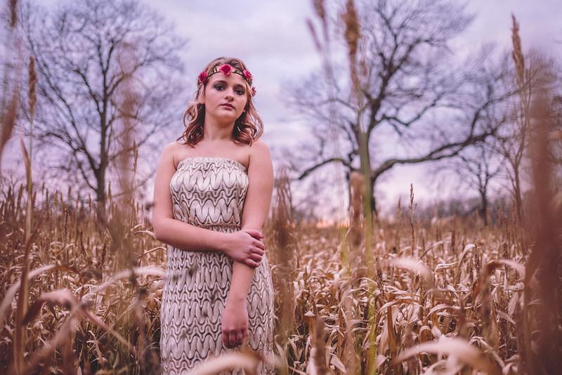 Eclectic americana themed senior portrait session. Ryan avis Photograhy - Rockford, IL