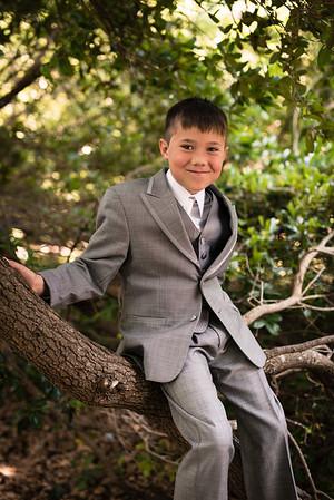 Matthew Bacon in the lightning tree