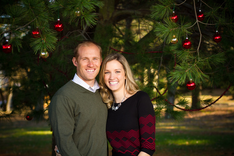 Connor & Bekah Christmas Photo