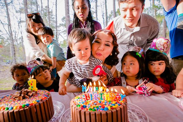 Elina's 1st Birthday Party
