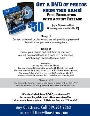 Buy a DVD Flyer!