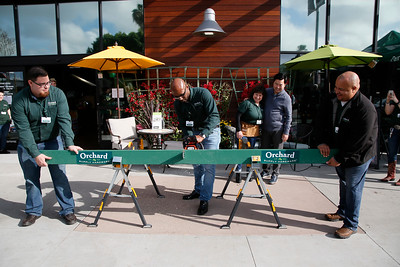 Orchard Supply Hardware Hollywood store grand opening board cutting ceremony, Hollywood, America - 24 Mar 2018