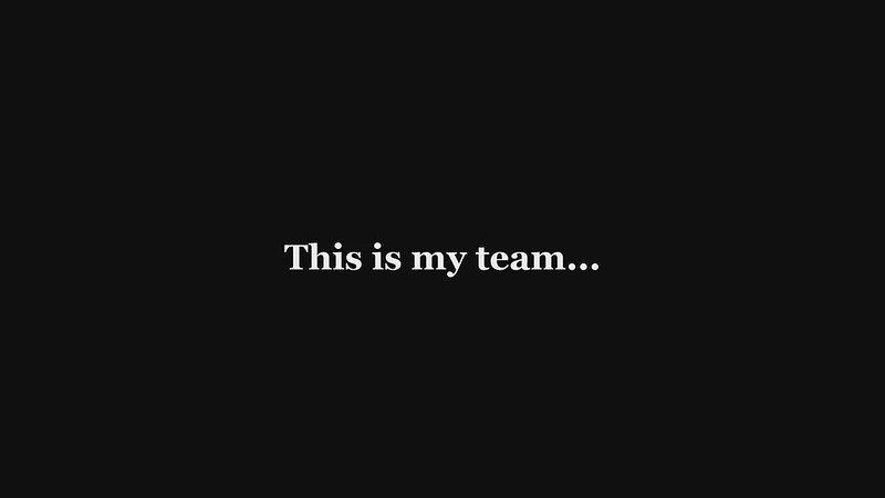 This is my team