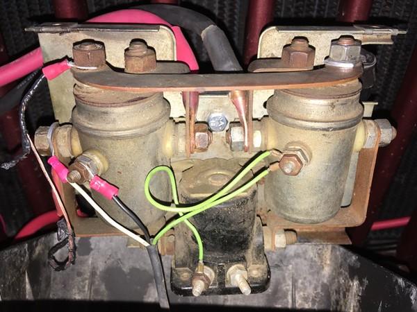 Old Warn Winch- Control Box Wiring Blues