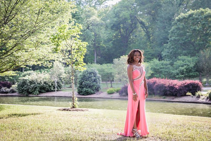 Daisha & Friends Prom 2015-34