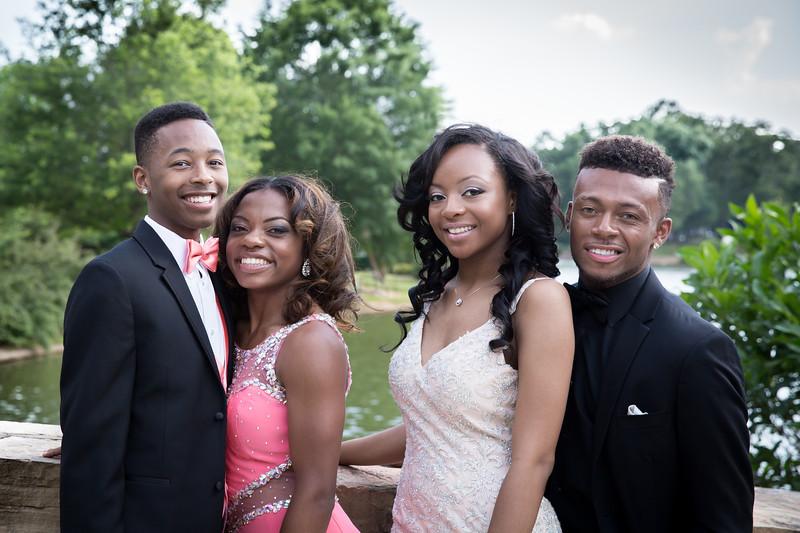Daisha & Friends Prom 2015-9