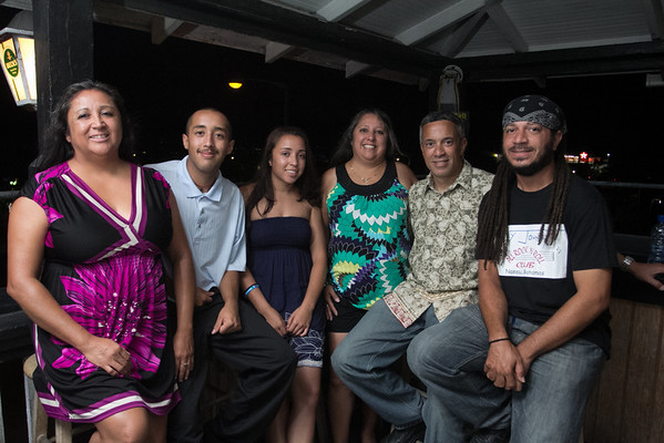 Gina Cata, Kyle Krantz, Muriah Dean, Charlene Dean, Charlie Dean and Kevin Dean who also provided his talents on the drums.