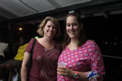 Melanie Rouse and Stephanie Cleare.