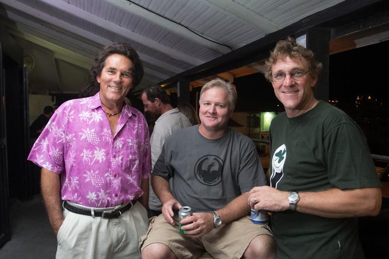 Christopher Heartly, Bob Billy and Joe Euteneueo.