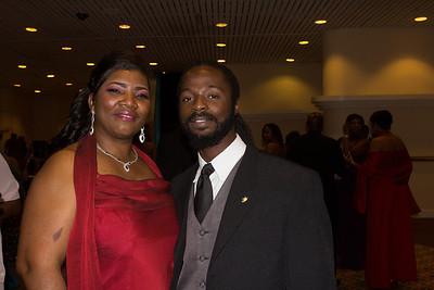 Pandora Knowles and Deno Campbell.
