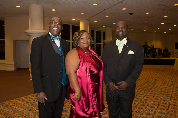 Ricardo Knowles, Dr. Erecia Hepburn, William R. Deveaux.
