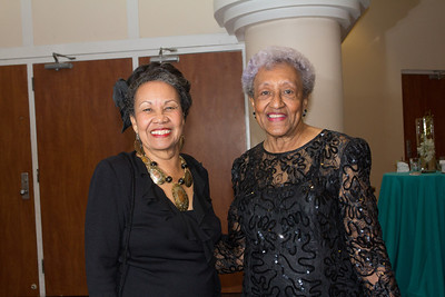 H. E. Lady Darling 38th Annual honoree, and Beverly Wallace-Whitfield 40th Annual honoree. Both past presidents of the Red Cross Ball.