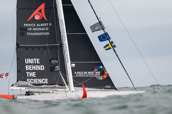 "14/08/2019 - Plymouth (UK) - © Ricardo Pinto |  <a href=""http://www.rspinto.com"">http://www.rspinto.com</a> - Team Malizia & Greta Thunberg departing from Plymouth for a zero-emissions Atlantic crossing, finishing in New York."