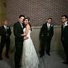St. Victor Church, Asian Pearl Restaurant Fremont Wedding - Qwen and David