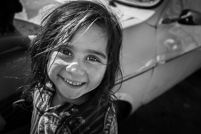 Young Syrian girl in a camp in the Northern part of the country. Akkar District, Lebanon, 2015 ---- Une jeune syrienne dans un camp dans le Nord du pays. District d'Akkar, Liban, 2015