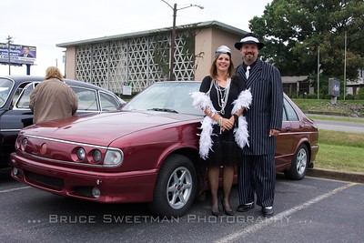 Donna and Brad Duke of Franklin, Tennessee with a 1978 Tatra T700.