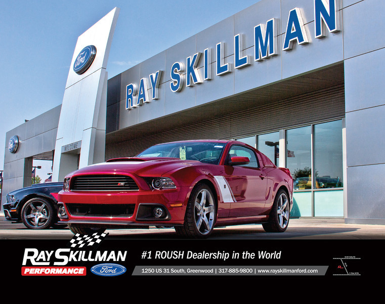 "Ray Skillman Ford Magazine ad on back cover of ""South"" Magazine - Fall 2012"