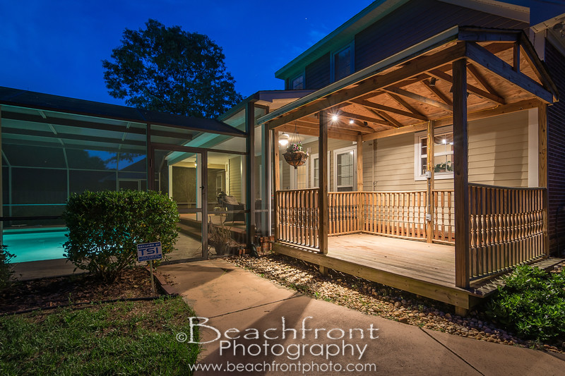 Exterior Photography of a home with a pool in Crestview, FL.<br /> <br /> By Beachfront Photography | Crestview & Niceville Real Estate Photographers.