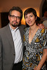 From left, Andrew Perchuk, Getty Research Institute and Allison Perchuk during the reception for the inaugural exhibition at Regen Projects' new Hollywood gallery on Saturday, Sept. 22, 2012, in Los Angeles, Calif. (Courtesy, Regen Projects, Los Angeles © Ryan Miller/Capture Imaging)