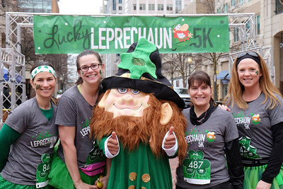CG005 Lucky Leprechaun race