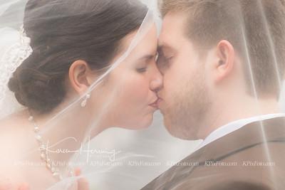 Tyler and Carissa Wedding Portraits