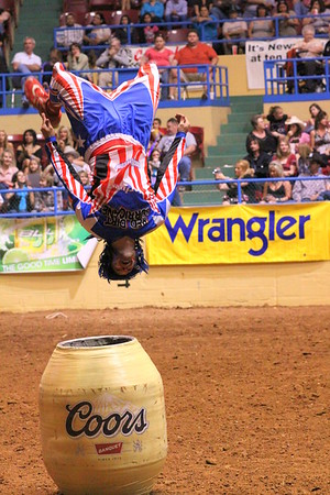 Back Flip Johnny Rodeo Clown