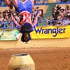 Back Flip Johnny Rodeo Clown : Back Flip Johnny Rodeo Clown at the ABC Rodeo Lubbock, Tx