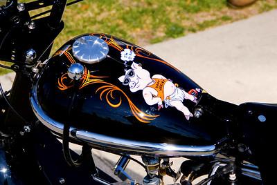 Ron Reave's  custom Cushman