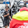 Sun Hung Kai Scallywag at the Saint Malo - Lisbon Race, part of VOR Leg 0, preparation for the Volvo Ocean Race 2017/2018