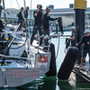 Sun Hung Kai Scallywag arrive in Lisbon, part of VOR Leg 0, preparation for the Volvo Ocean Race 2017/2018
