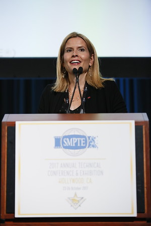 SMPTE Conference at Dolby Theater, Oct 23, 2017 - Los Angeles, America
