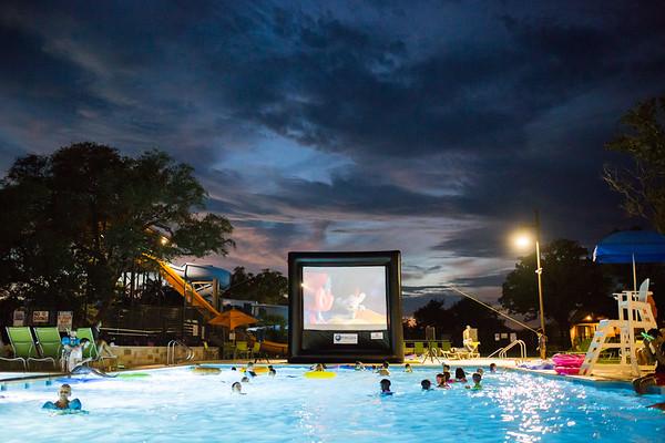 SR Movie in the Pool