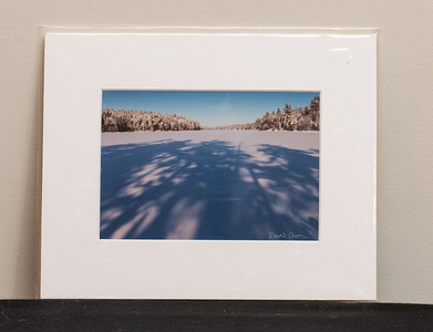 SALE DETAILS:   8x10 Matted print (in protective package)                             $10 (does not include sales tax or shipping).  Original price: $40/each  IMAGE DETAILS: 010107-044-2 Slim Lake