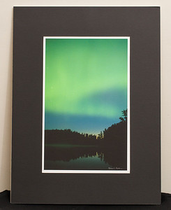 SALE DETAILS:   18x24 Matted print                             $25 (does not include sales tax or shipping). Original price: $125  IMAGE DETAILS: 7408 Aurora Borealis