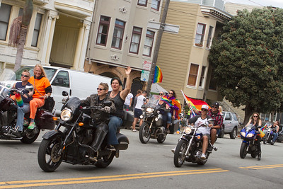 dyke march motorcycles