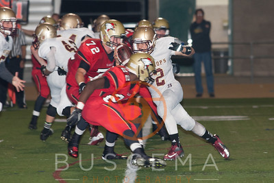 SFC vs Bishops Varsity Football 10-12-2012