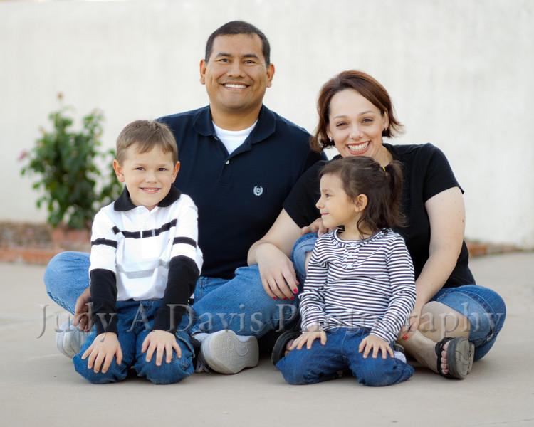 6709<br /> Santiago Family,  Natural Light Lifestyle Family Portraits, <br /> Judy A Davis Photography, Tucson, Arizona