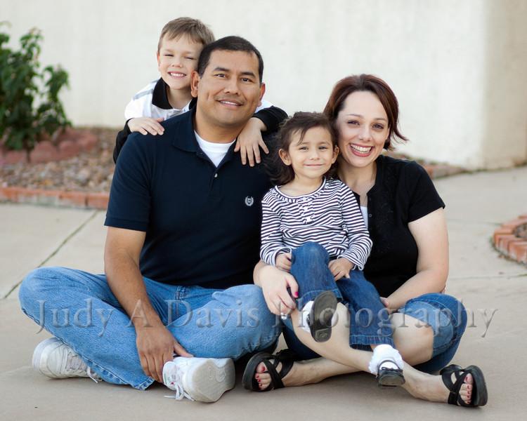 6715<br /> Santiago Family,  Natural Light Lifestyle Family Portraits, <br /> Judy A Davis Photography, Tucson, Arizona