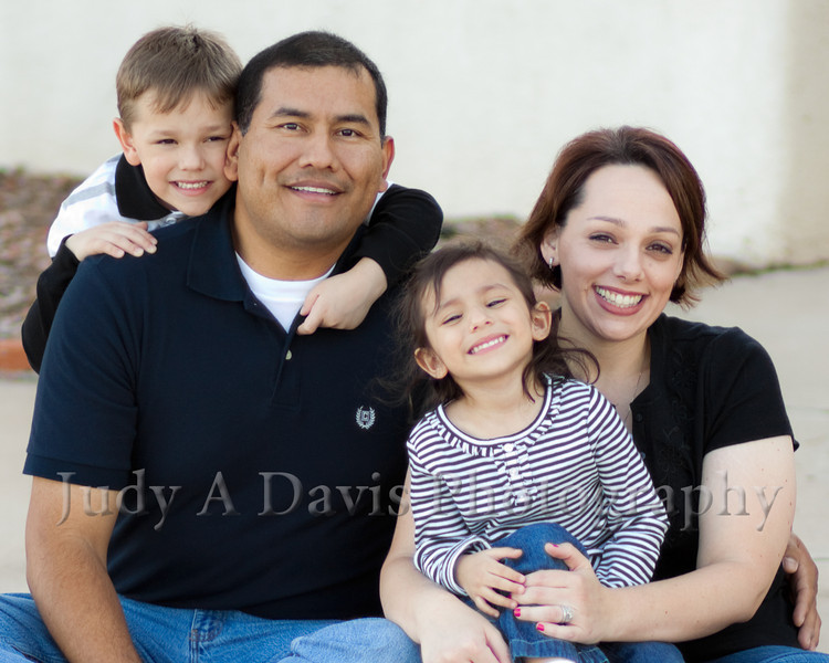 6718<br /> Santiago Family,  Natural Light Lifestyle Family Portraits, <br /> Judy A Davis Photography, Tucson, Arizona