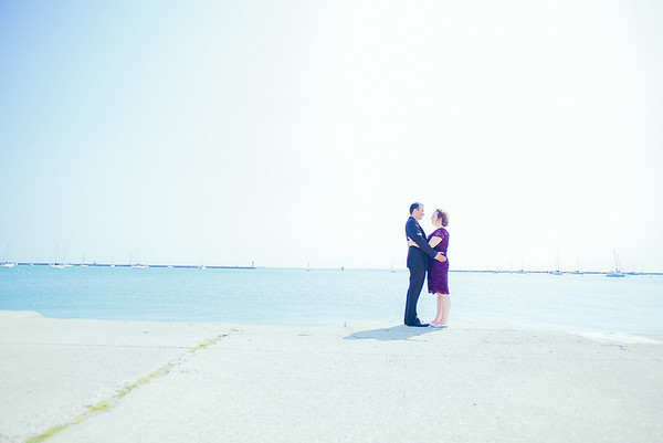 Sarah & Vivek: {engaged}!
