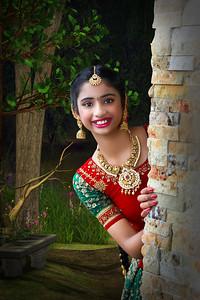 Sarayu's Half Saree Ceremony