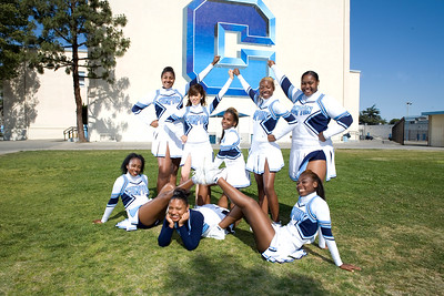 Compton High Cheer & Drill Team